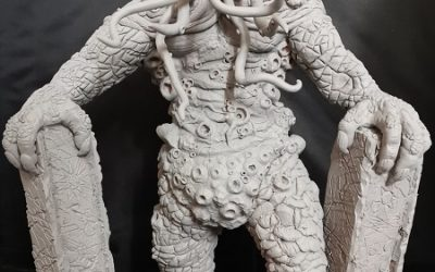 Sculpting-Projekt: Cthullu