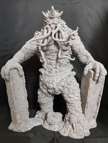 Sculpting-Projekt: Cthullu