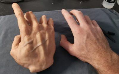 Sculpting-Projekt: Hand