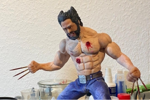 Sculpting-Projekt: Wolverine