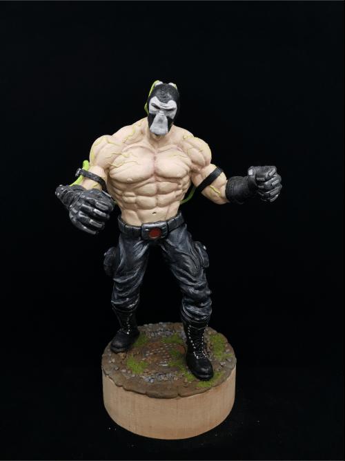 Bane Figur_Erstellt aus Polymer Clay und mit Acrylfarben bemalt
