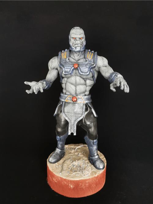Darkseid Figur_Erstellt aus Polymer Clay und mit Acrylfarben bemalt