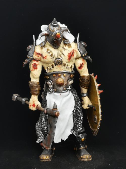 Deathdealer Figur_Erstellt aus Polymer Clay und mit Acrylfarben bemalt