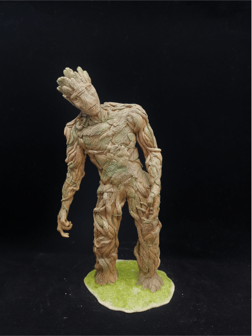 Groot Figur_Erstellt aus Polymer Clay und mit Acrylfarben bemalt